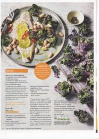 Food recipes 100 - In season 2 of 4 - Roasted Kalettes with Basa fillets & anchovies (+ recipe)