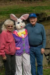 The Real Easter Bunny.  No, really!