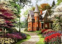 Victorian Cottage In Bloom (large)