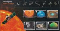 Part of the First Day stamp covers series (85) Space & Science 2012 (UK)
