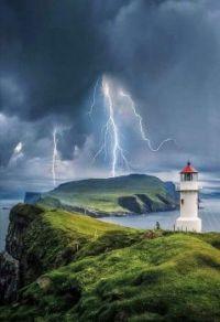 Thunder storm in progress