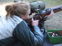 My Little Girl... Competitive Shooting