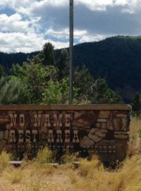 A Rest Area with No Name in Colorado