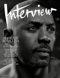 Idris Elba, Interview magazine