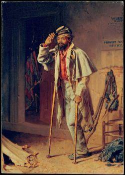 A Bit of War History: The Veteran, Thomas Waterman Wood, 1866