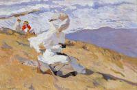 Capturing the Moment (1906) - Joaquín Sorolla