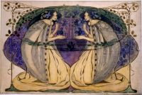 'Spring' by Frances Macdonald