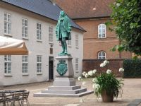 Peder Griffenfeld, Bibliotekshavens forgård, Copenhagen