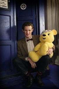 dr who matt children in need