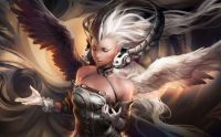 Fantasy Woman with Wings