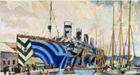 'Olympic' With Returned Soldiers, 1919 Arthur Lismer  Canadian Group of Seven