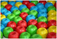 The Colours of Wooden Beads