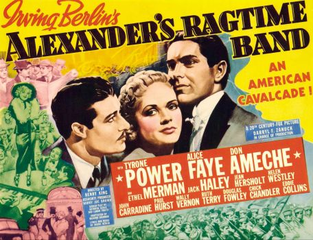 ALEXANDER'S RAGTIME BAND - 1938  TYRONE POWER, ALICE FAYE & DON AMECHE