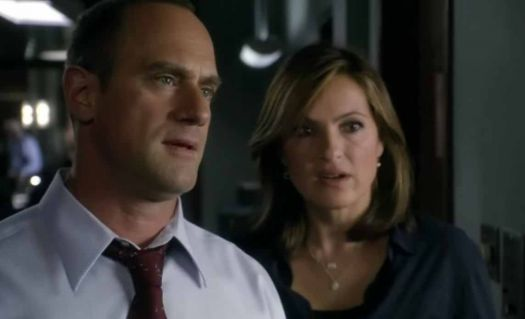 Elliot and Olivia...say what?? SVU