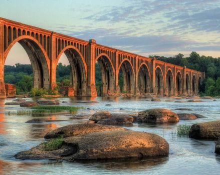 Railroad Bridge-Richmond,Va.