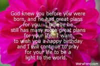 Birthday Blessings Brighty!