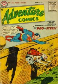 Superboy And Krypto, The Dog Of Steel