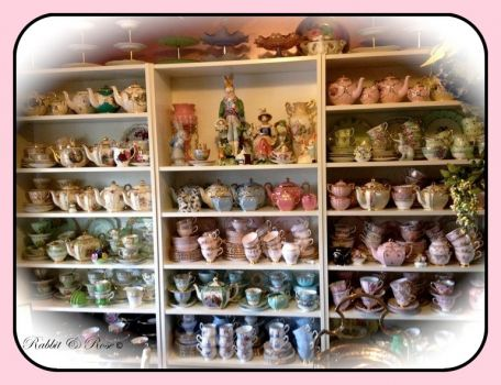 Wow! That is a tea cup/teapot collection!