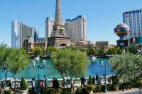 View of Paris from The Bellagio