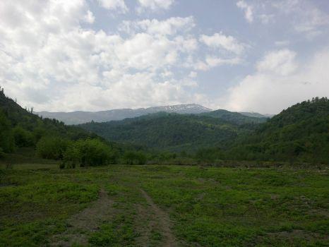 Alborz range from lafour