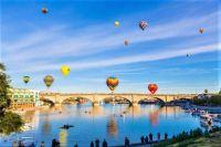 Hot Air Balloon Festival, London Bridge,  Lake Havasu City, Arizona