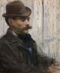 """Portrait of Alphonse Maureau"""
