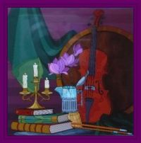 Music and candle light . . . . .