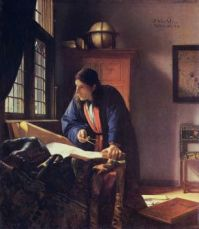 The Geographer - Johannes Vermeer