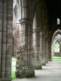 Tintern abbey near Chepstow, England