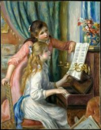 Auguste Renoir--Two Young Girls at the Piano, 1892