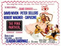 THE PINK PANTHER - 1963 POSTER  DAVID NIVEN, PETER SELLERS, ROBERT WAGNER, CAPUCINE