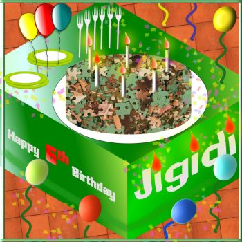 Happy Birthday, Jigidi!!