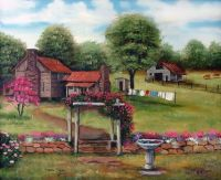 Rose Arbor by Arie Reinhardt Taylor