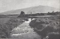 River Jordan in 1948 before the course impruvment