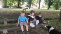 Piggly and his cousins meet Zita!