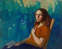 Portrait of Henriette Wyeth, 1922, N. C. Wyeth (1882-1945)