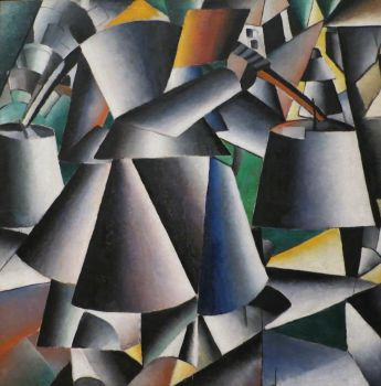 Woman with Pails (Malevich, 1912)