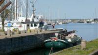Slæbestedet ved det gamle bådeværft ved lystbådehavnen