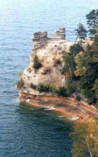 Miner's Castle, Lake Superior, Michigan USA