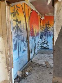 the graffiti