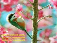 Getting older, pay attention