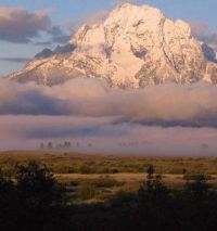 Mt Moran, Grand Tetons, Wyoming