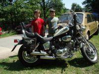 Vlastíček,Lukášek a motorka 1