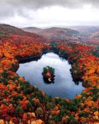 Fall colors in Maine