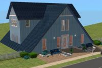 A-Frame House Sims2