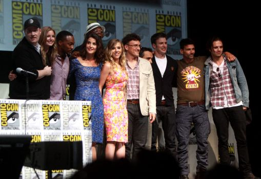 Marvel panel at SDCC!