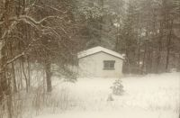 Winter in the bunkhouse