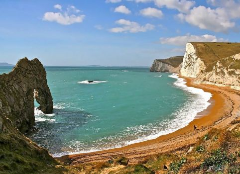 DORSET - DURDLE DOOR, LOOKING WEST