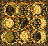 Autumn Paisley Jigsaw png