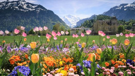 LauterBrunnen Valley, Interlaken, Switzerland